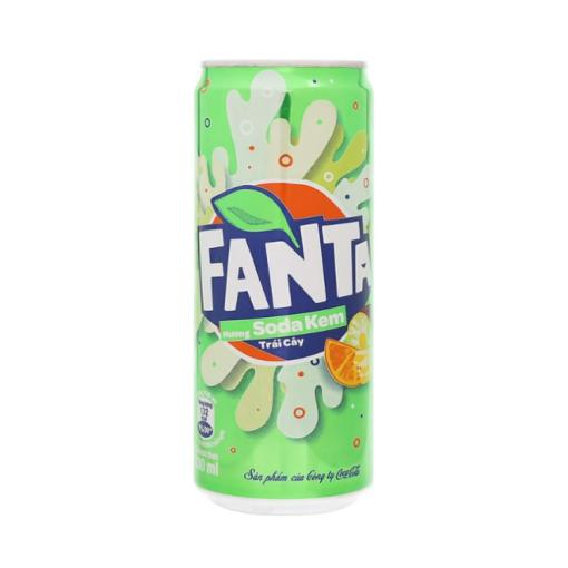 Fanta Fruit Ice Cream Soda