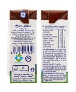 Fresh Milk Chocolate Flavor Vinamilk 1