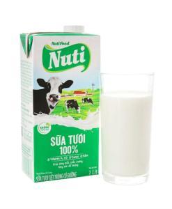 Nuti 100% Fresh Milk