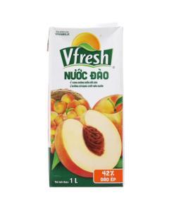 Peach Vfresh Natural Fruit Juice