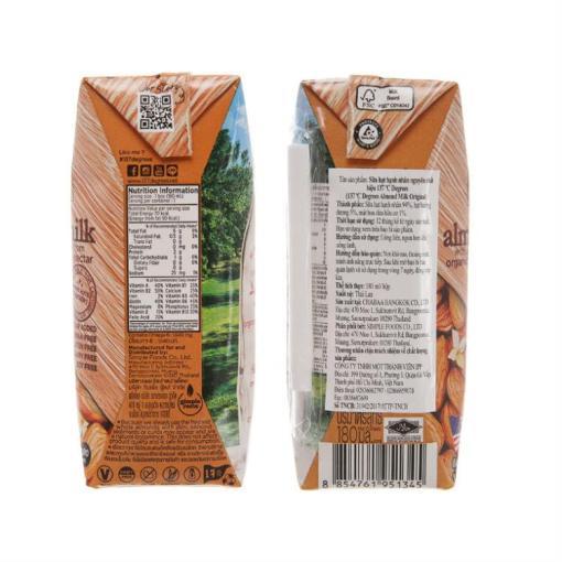 Real Almond Milk 137 Degrees 1