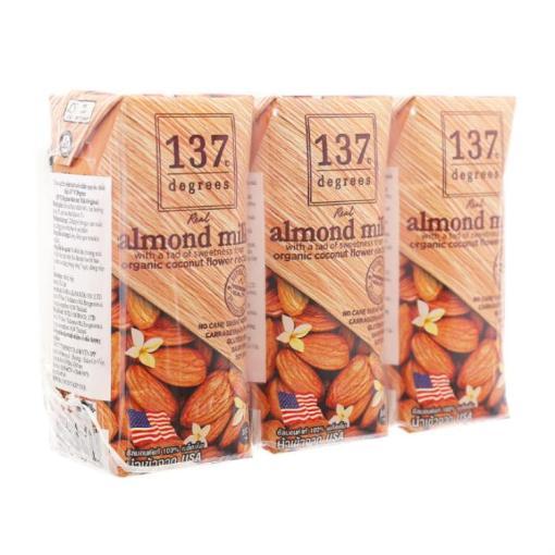 Real Almond Milk 137 Degrees