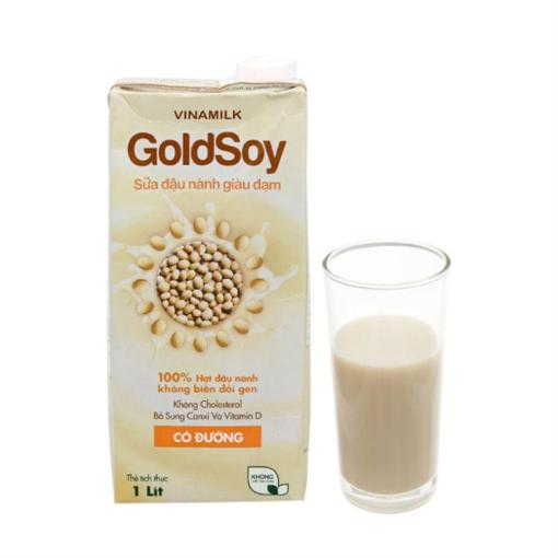 Soy Milk Sweetened Goldsoy