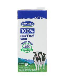 Vinamilk Fresh Milk Less Sugar