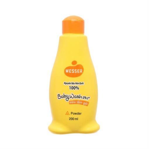 Baby Wash Wesser Powder