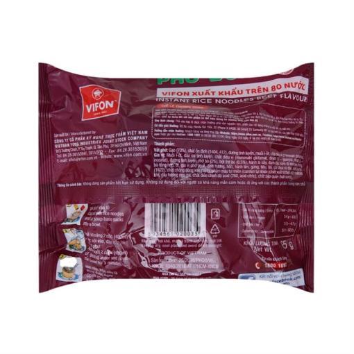 Beef Flavor Vifon Rice Noodle 1