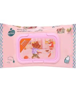 Wesser Pink Baby Wipes