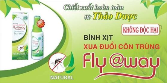 FLY AWAY Mosquito Repellent 2