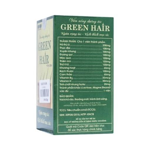 Hoa Sen Green Hair 60 gélules 4