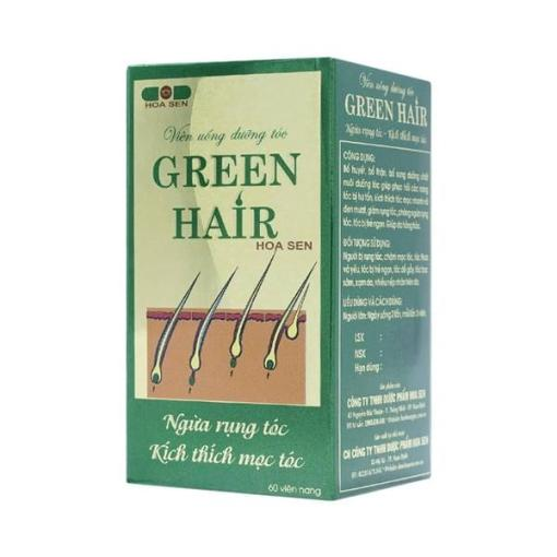Hoa Sen Green Hair 60 gélules