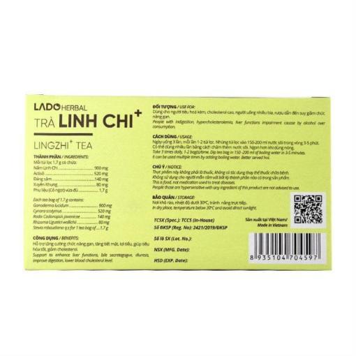 Lingzhi Tea nourishing body 2