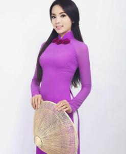 Tenue traditionnelle vietnamienne Ao Dai 10