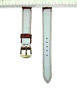 Cheap ostrich leather wristwatch strap 1