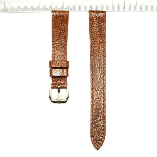 Cheap ostrich leather wristwatch strap