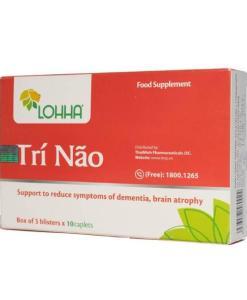 Lohha Tri Nao prevents brain atrophy