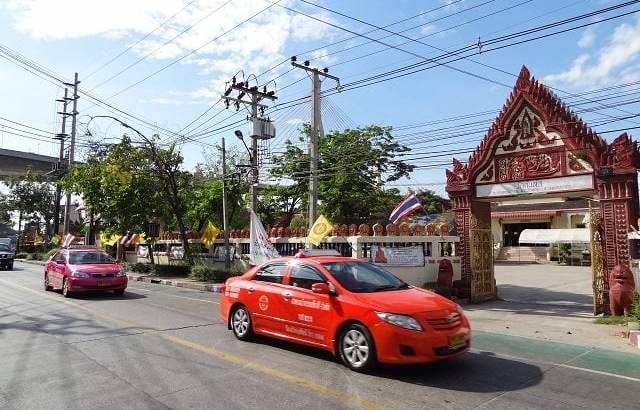 Gratis taxi in Bangkok