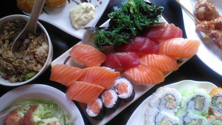 Sushi eten bij Fuji: prijzig maar lekker!