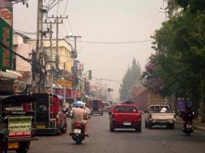 smog Noord-Thailand