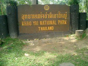 Waarschuwing wandelaars Khao Yai National Park