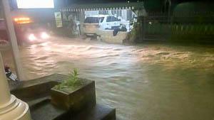 Regenseizoen in Thailand begonnen: Veel regen