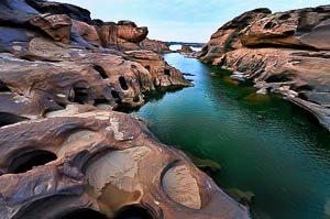 Sam Phan Bok, de Grand Canyon van Thailand