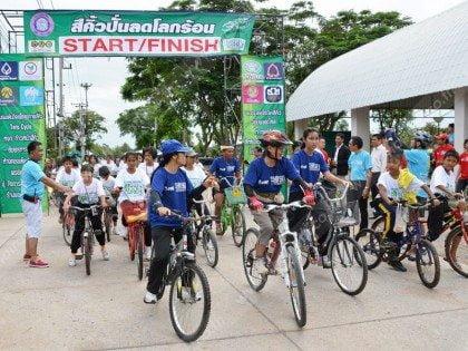 Bangkok Car Free Day 2013: aandacht voor de fiets