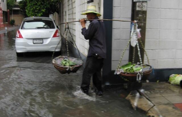 Nog steeds overstromingen in Thailand