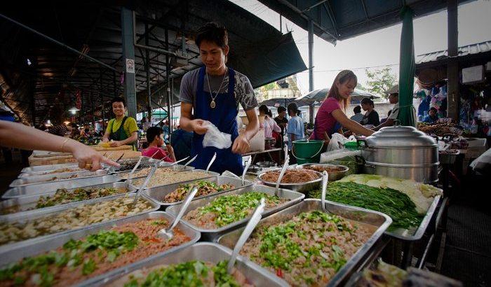 De populairste markten van Thailand