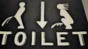 Maffe toiletborden in Thailand, om te gieren!