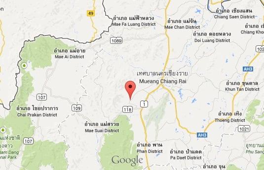 Opnieuw lichte aardbeving in Chiang Rai