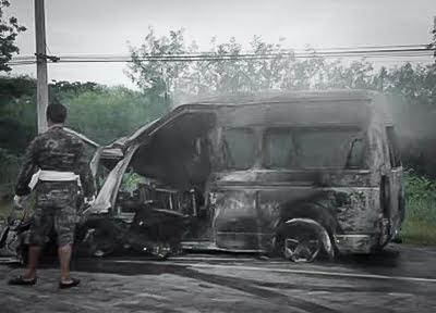 Dertien doden bij ongeluk in Thailand