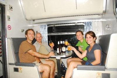 Geen alcohol in Thaise treinen