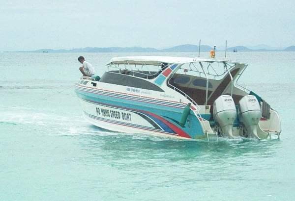 Boottocht bij Ao Nang (video)