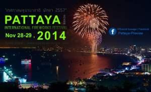vuurwerkfestival in Pattaya