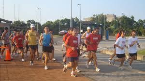 Human Run 2015 in Bangkok