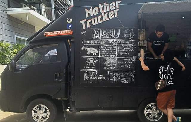 Food Trucks zijn erg populair in Bangkok