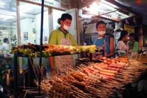 Nachtelijk tuk-tuk tour door Bangkok