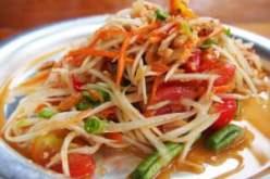 pittig eten in Thailand
