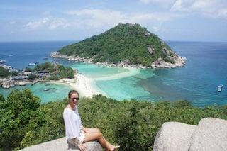 alleen reizen door thailand