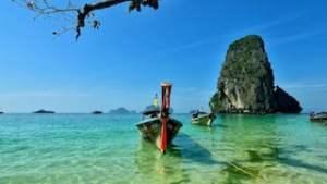 eiland hoppen in thailand