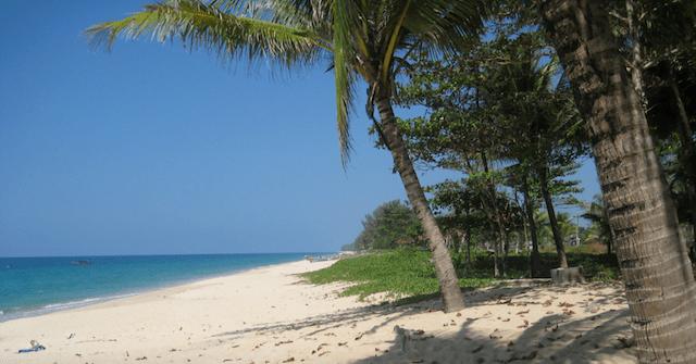 stille stranden van Phang Nga