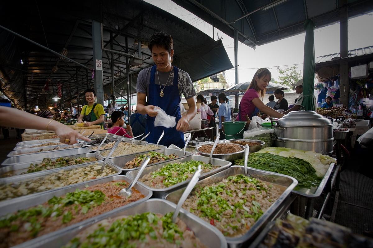 Thaise markten