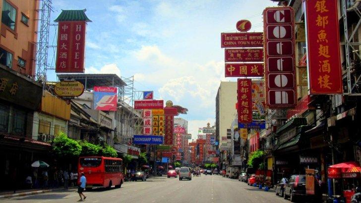 Fotogeniek Chinatown in Bangkok