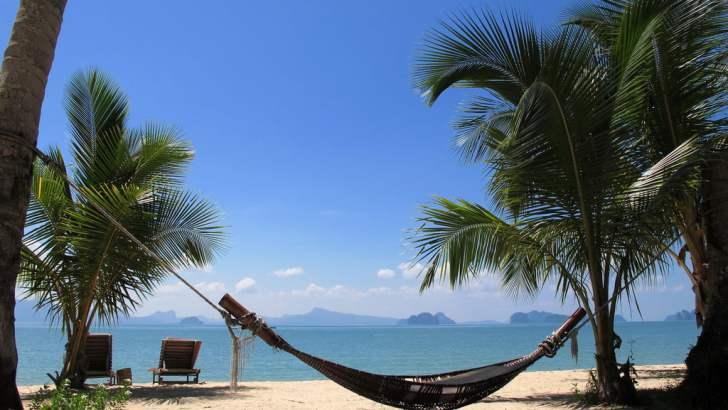 Eilandhoppen in Thailand in de zomermaanden