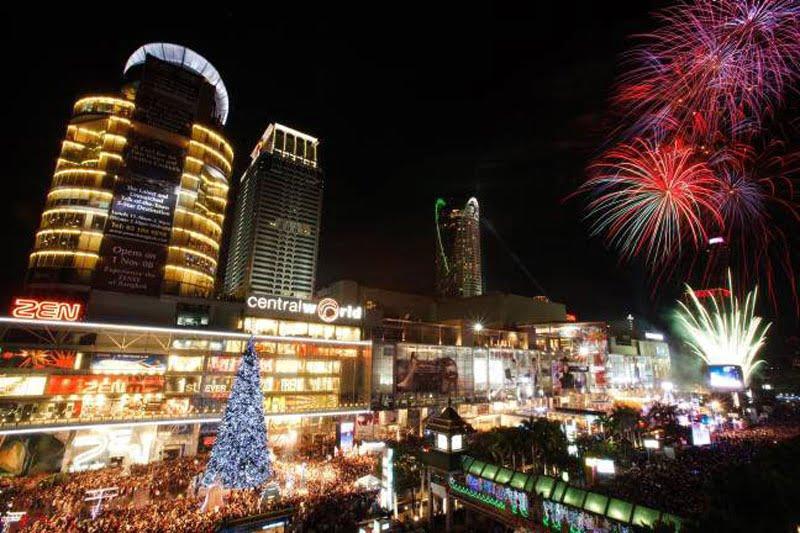 festiviteiten voor CentralWorld