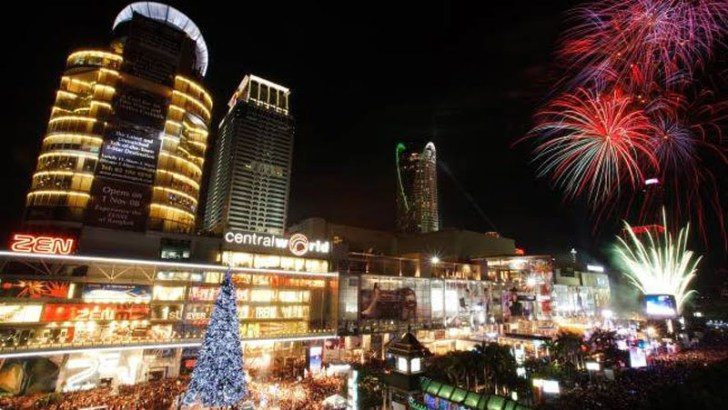 Geen festiviteiten voor CentralWorld tijdens jaarwisseling