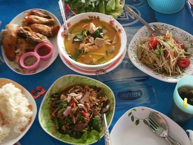 verrukkelijke Thaise gerechten