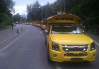 Nieuwe toeristenbusjes voor Doi Inthanon