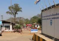 Thaise grens met Myanmar