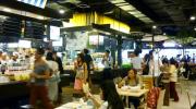 Pier 21 food court in Terminal 21 Bangkok
